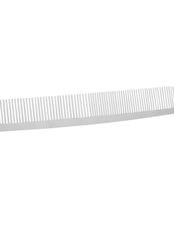 Salon Hair Comb Stainless Steel Hair Cutting Comb Hand Made Professional Hairdressing Steel Comb