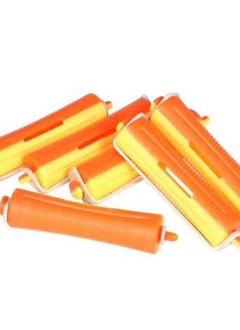 6 Pieces Salon Cold Wave Rods Roller De Cabelo Com Rubber Band Curling Curler Perms Cabeleireiro Styling Tool para Meninas Mulheres Cabelo DIY