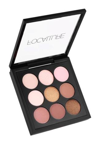 FOCALLURE 9 Colors Palette Matte Shimmer Long-lasting Eye Shadow Powder