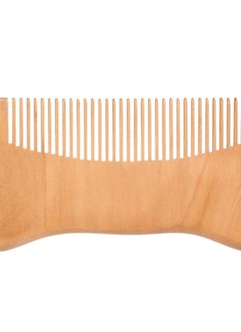 Peine de madera del pelo del hombre Peine de la barba Anti-estática Masculina Mini peine del pelo facial Peine de masaje de madera