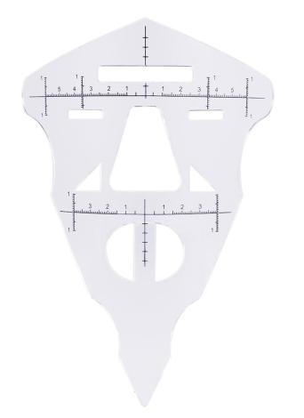 Strumenti di microblading dello shaper dello trucco del sopracciglio del sopracciglio del sopracciglio del sopracciglio del sopracciglio