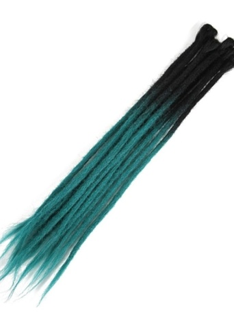 1 pacco 10 pezzi cambiamento graduale handmade dreadlocks estensioni moda reggae all'uncinetto hip-hop sintetico dreads crochet intrecciare i capelli 2 # 1