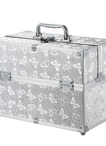 Foldable Cosmetic Organizer Box Portable Make Up Case