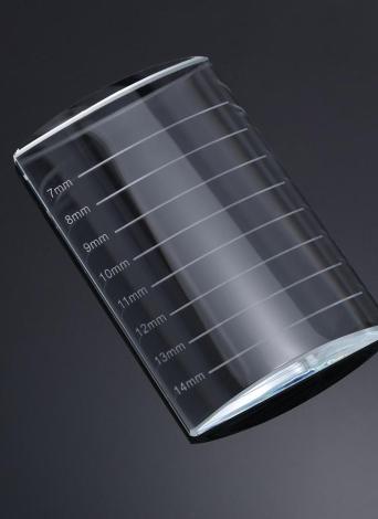 Stehen 1pc Wimpernverlängerung Basis Durable Falsche Wimpern Verpflanzung Halter falsche Wimper Palettenfach-Werkzeug