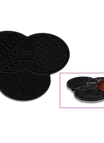 Silicona Cosmética Maquillaje Gel de Lavado Estera de Limpieza Maquillaje Cepillo Limpiador Pad Pad Scrubber Board