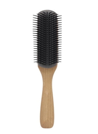Pro Scalp Massage Hair Brush Antiestático Pele De madeira Macio Pega Comb Girl Hair Beauty Care Tool