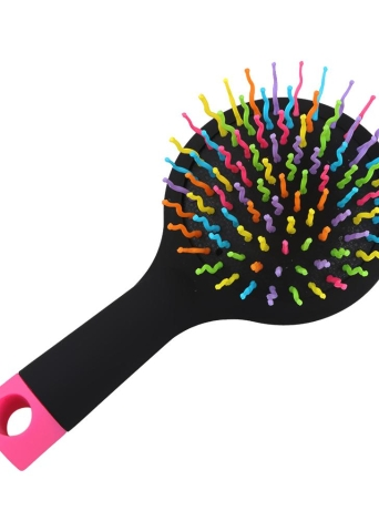 Cepillo de pelo antiestático Magic Curl Straight Massage Peine cepillo de herramientas de peinado