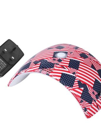36W Светодиодная лампа для ногтей Ультрафиолетовая гвоздь для ногтей для ногтей для ногтей для ногтей и ногтей Гель для отверждения Инструмент для ногтей для маникюра белого света Опциональный штекер US / EU / UK / AU