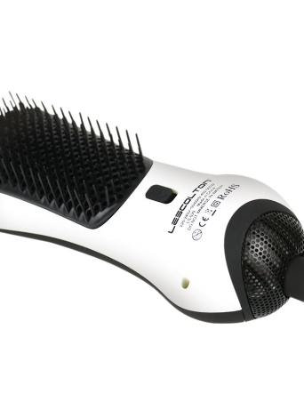 Infrarotanion-gerades Haar-Kamm-tragbarer Heißluft-Kamm kombinierter Multifunktionsmini-Haartrockner