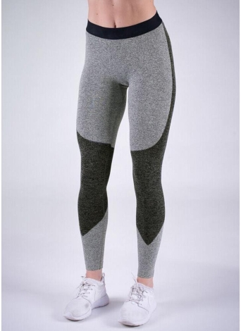 Сексуальные женщины Slim Sport Yoga Color Splice Fitness Leggings