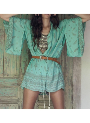 Women Summer Shirt Kimono Beach Cover Up Outerwear