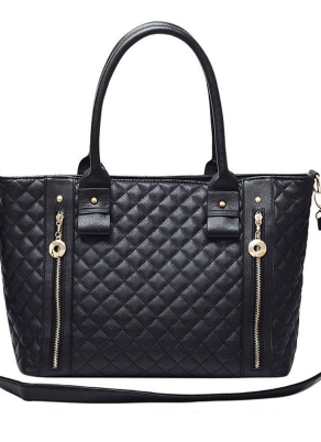Femmes Noeud cuir embrayage portefeuille porte-carte Case Sac à main double Zipper Sac à main