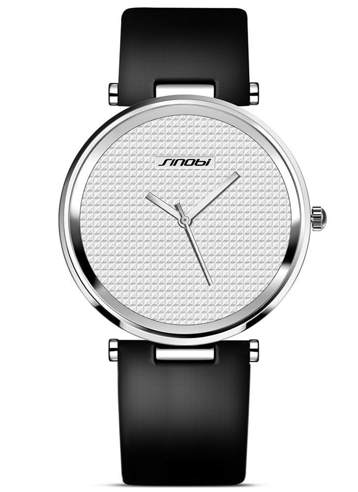 0e36a8f1f45 Dial Luxo Simple Relógios Homens Homens SINOBI de Moda de Nova Marca  Negócios relógio de quartzo