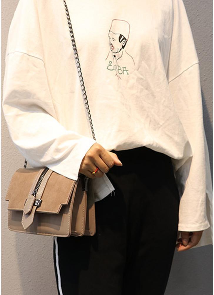Women PU Leather Messenger Bag Casual Crossbody Bag