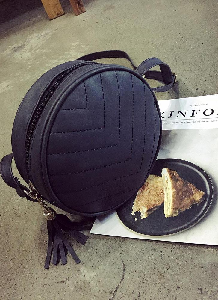 A tracolla in pelle Donne Quilted Crossbody Bag nappa PU Messenger Bag Tote nero / verde / grigio