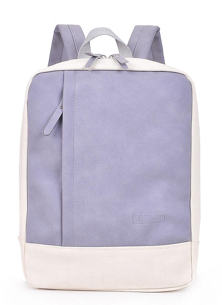 Canvas Backpack Bags Two Tone Student School Laptop Casual Rucksack Travel Daypack
