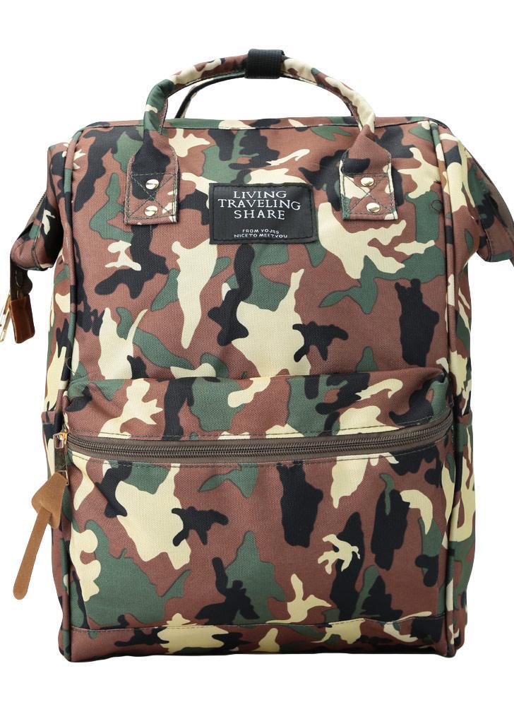 Nueva moda Unisex hombre mujer mochila Cool capacidad grande del estudiante lona mochila portátil bolso de viaje