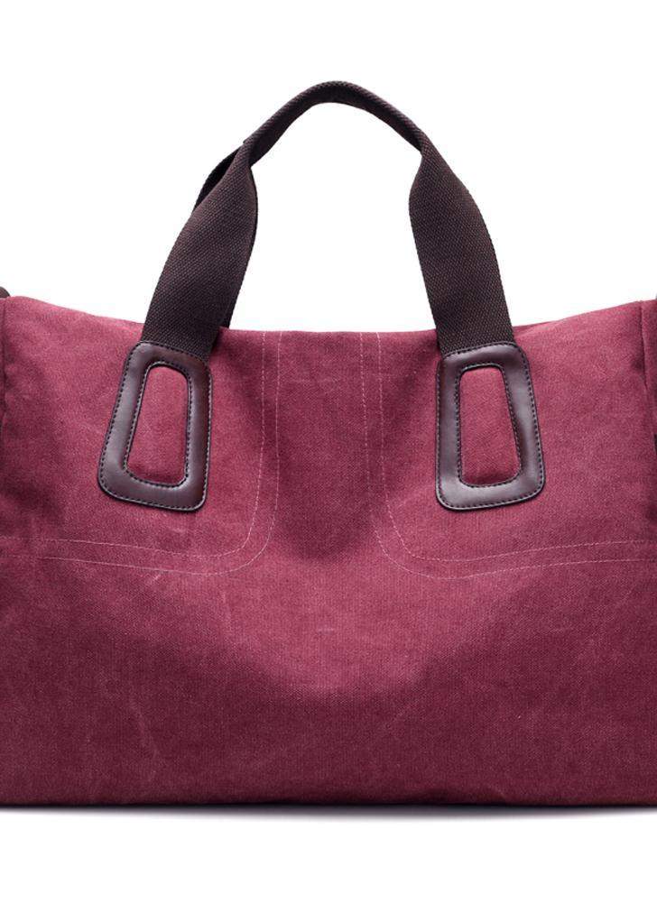 Женская сумка из твердого холста