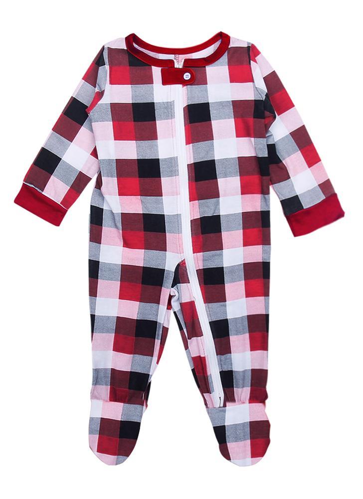 Baby Weihnachten Familie Langarm Bodysuit Size100