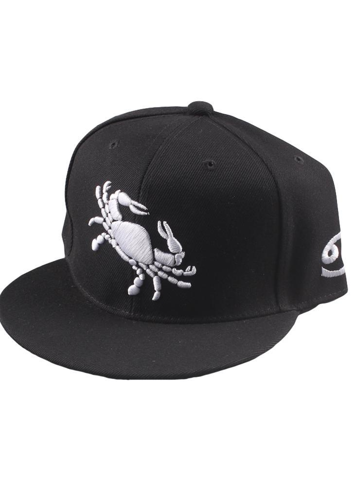 Nova moda homens mulheres Cap padrão bordado olhos volte chapéu liso  Baseball Cap Hip-Pop a80dd44df24