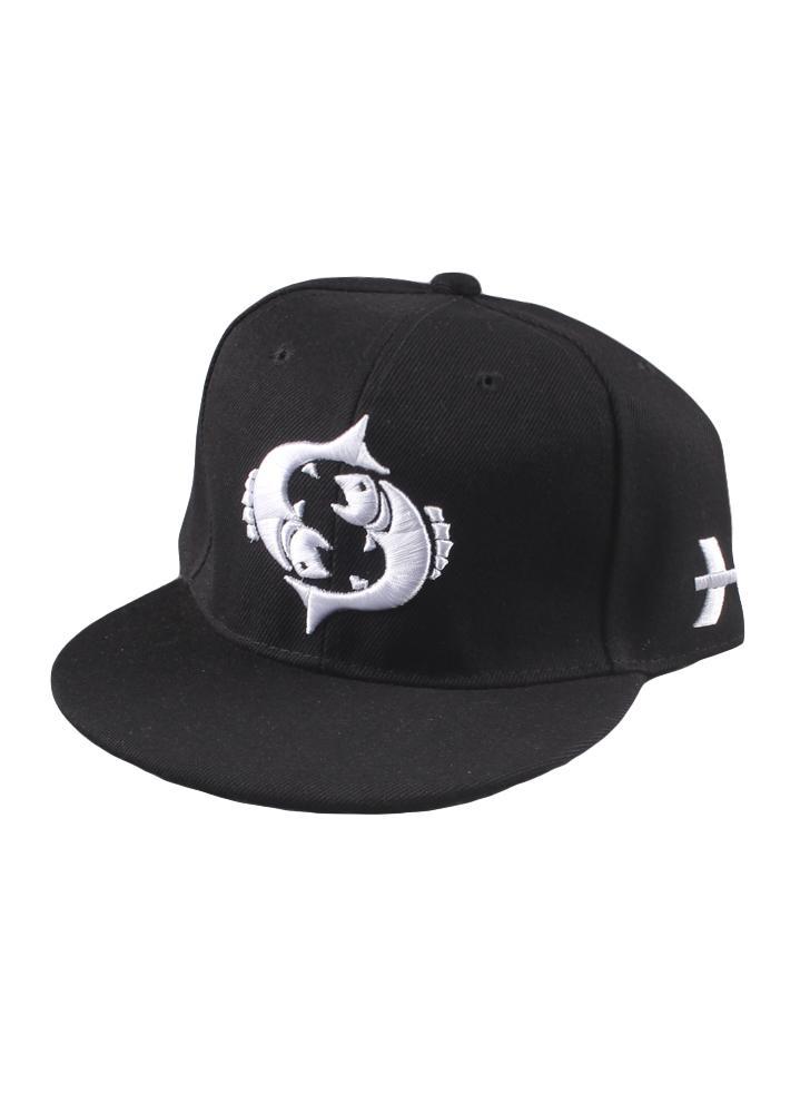 Nuova moda uomo donna cappuccio modello ricamo occhi chisura piatto cappello  Baseball Hip-Pop Cap ad860e8d66ac