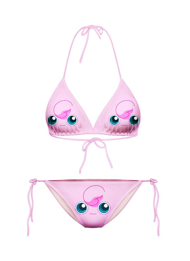 Nouvelles femmes Sexy Bikini Set Cartoon Galaxy animaux impression efflore deux pièces maillot de bain maillots de bain maillot de bain
