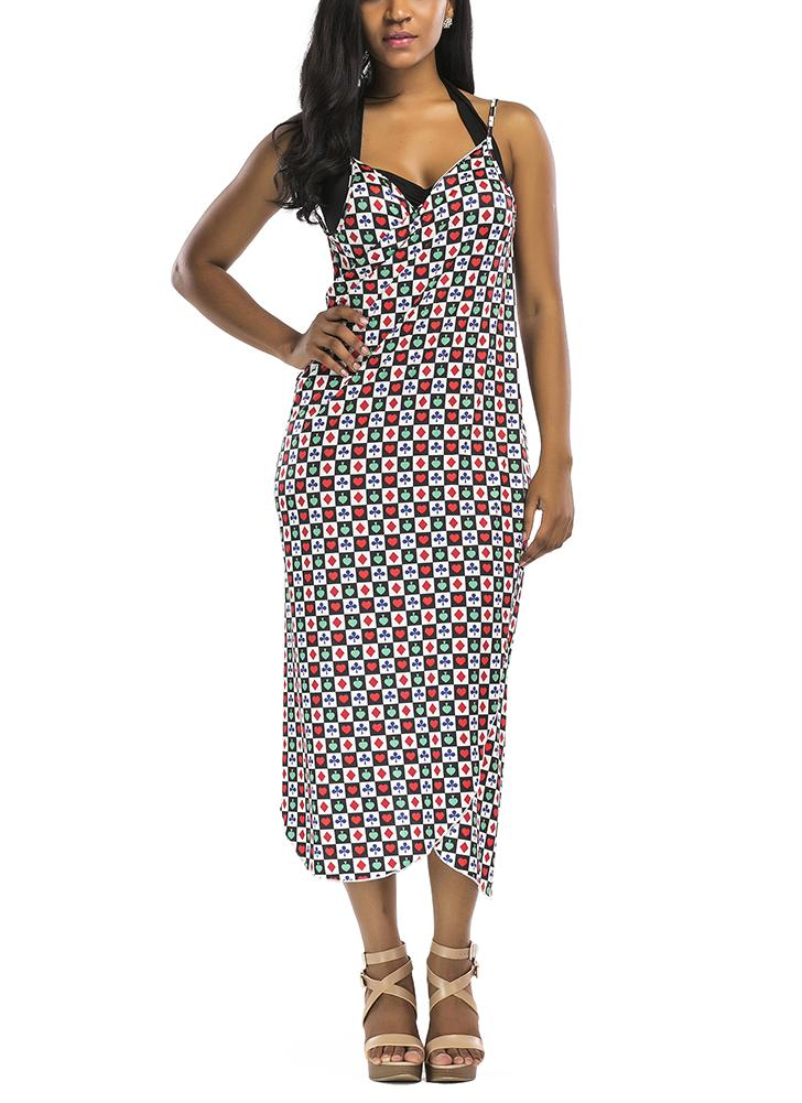 Impresso Cover Up Beach Dress Beach Wear Bikini Cover-up