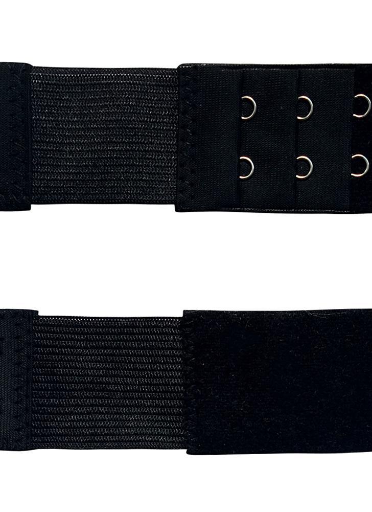 Frauen Bra Extender 2 Haken 3 Reihe Damen Soft BH Extension Strap verlängert Unterwäsche