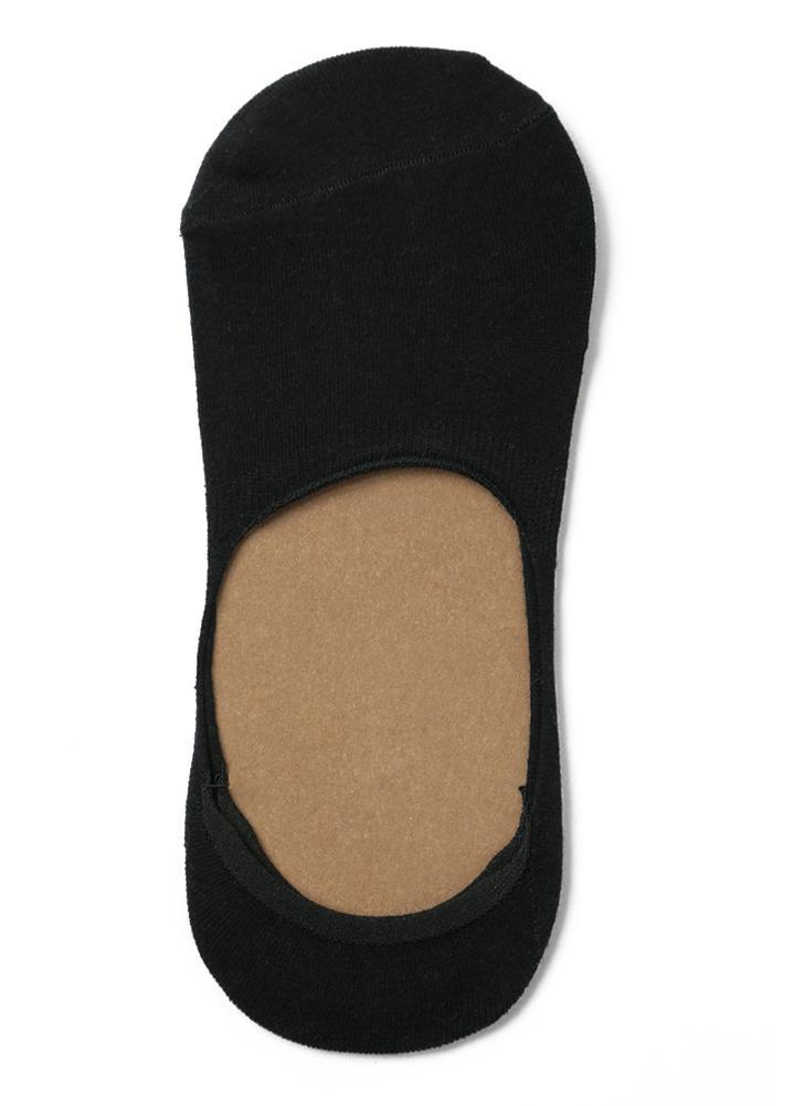 New Men Moda Meias estiramento Sólidos Low Cut Invisible Anti Slip Silicon preguiçoso Socks
