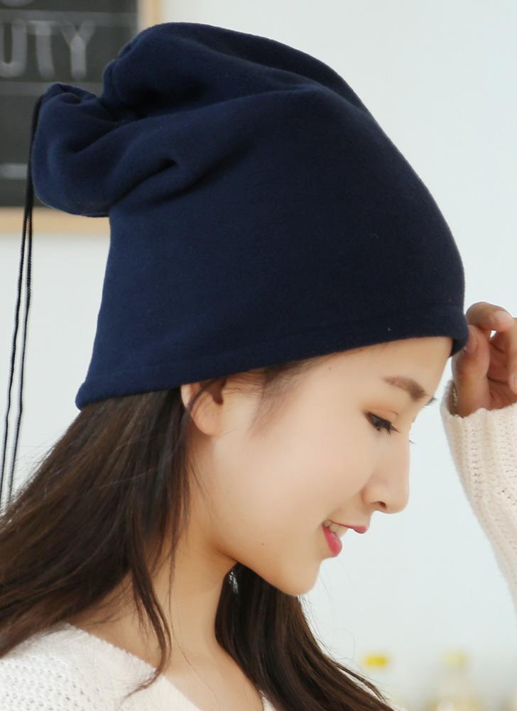 Nova Unisex Inverno Mulheres Homens Fleece Hat Sólidos Quente Hip-Hop Tampão fresco Headwear Lenço