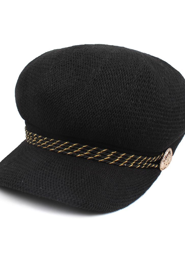 Moda donna berretto lavorato a maglia all'uncinetto Slouch Baggy Beanie Hat Cap Headwear Cappelli da viaggio traspiranti