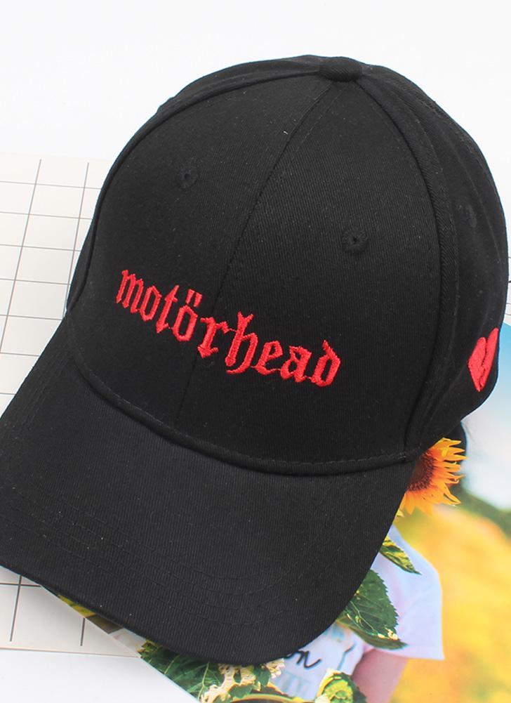 negro Mujeres de moda hombres letra del casquillo bordado del ...