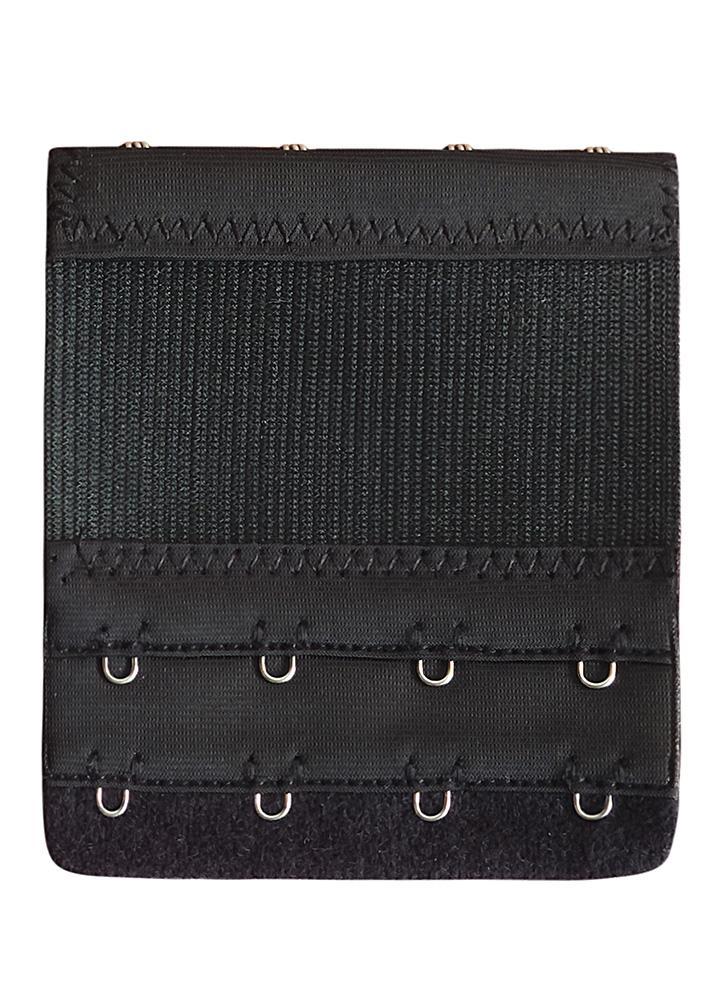 Women Bra Extender 4 Hook 2 Rows Elastic Adjustable Bra Extension Strap Adapter Converter Underwear
