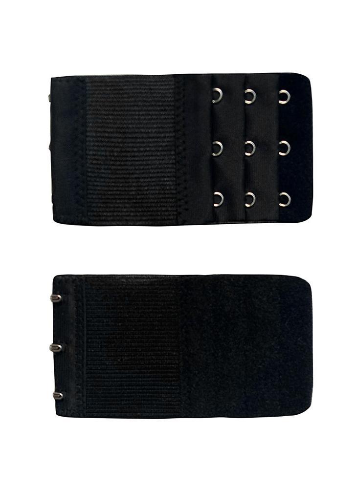 Frauen verstellbarer BH Extender 3 Reihen 3 Haken Damen Soft BH Extension Strap verlängert Unterwäsche