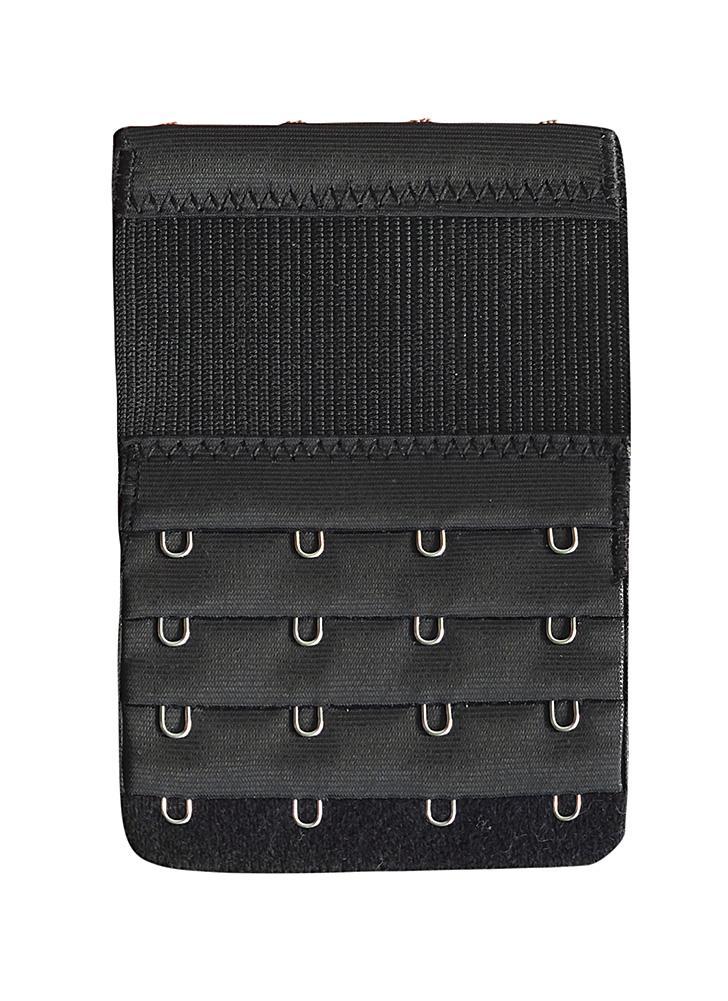 Women Bra Extender 4 Hooks Soft Bra Extension Strap Underwear Intimates Lengthened Buckle Strap
