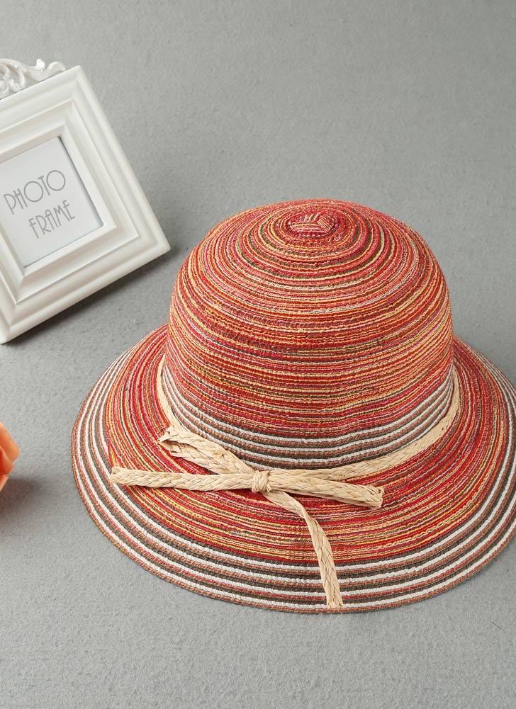 Cappello per il sole di modo delle donne di contrasto banda larga del bordo  cinghia di ad31fa393e1c