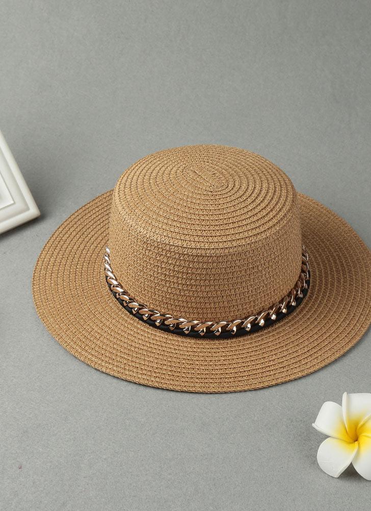 01235934dae Solid Wide Brim Summer Women s Sun Straw Hat