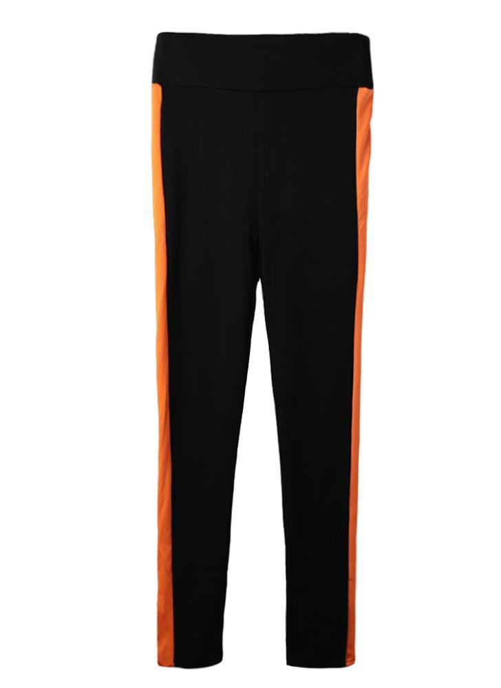 Nueva moda mujer deporte Leggings rayas cintura alta Yoga gimnasio  corriendo estiramiento pantalones largos pantalones b7db40e9d849