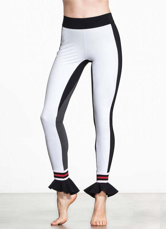 Women Sport Yoga Flare Hem Leggings