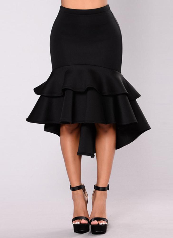 Faldas de lápiz elegantes de la capa de las mujeres Ruys 5b18c4151c5a