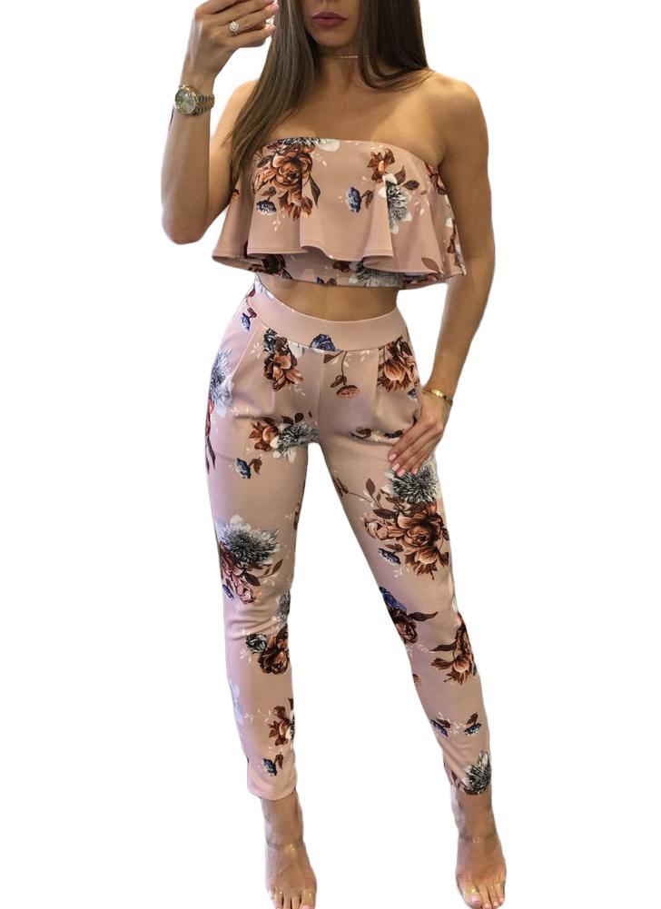 Traje de mujer casual Trajes de dos piezas sexy