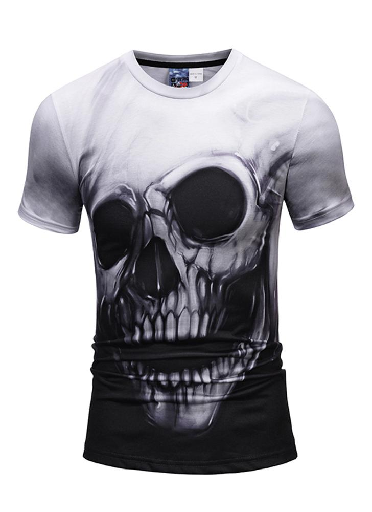3D Short Sleeve T-shirt Vivid Printing Pattern Loose Style for Women