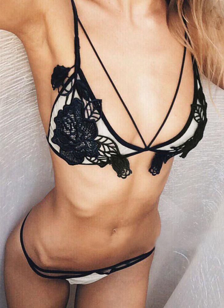 Sexy Lingerie Underwear Erotic Strappy Costume en dentelle pour femme