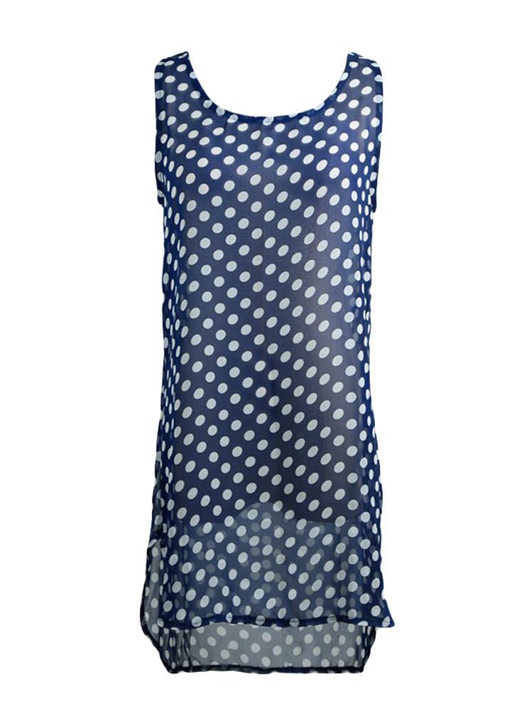 l azul oscuro Nueva moda mujeres Bikini encubrimiento en traje de ...