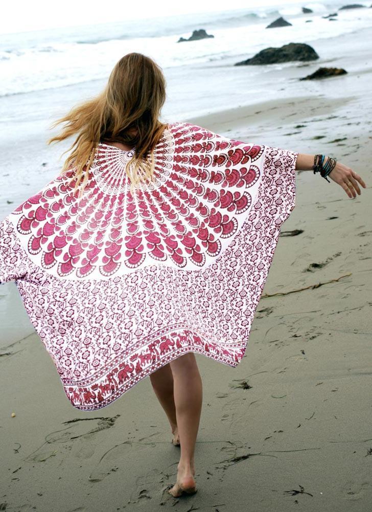 Kimono da donna in chiffon da spiaggia