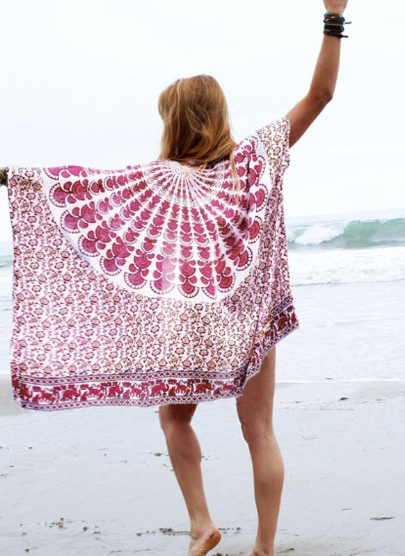 Quimono da mulher Chiffon Beach