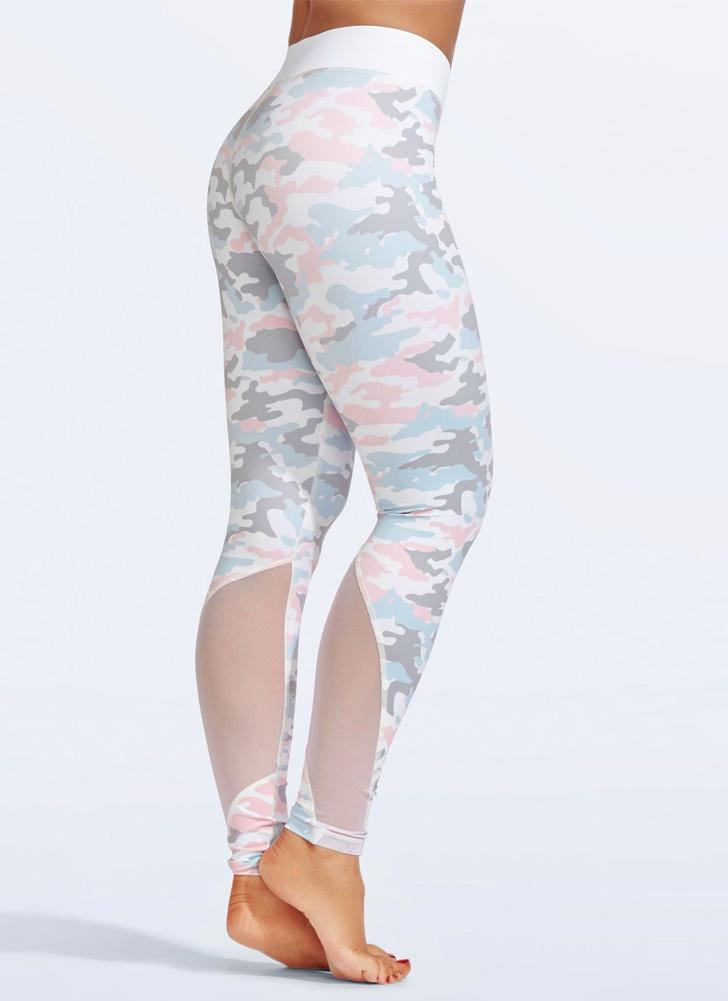 Moda feminina Yoga Fitness Leggings