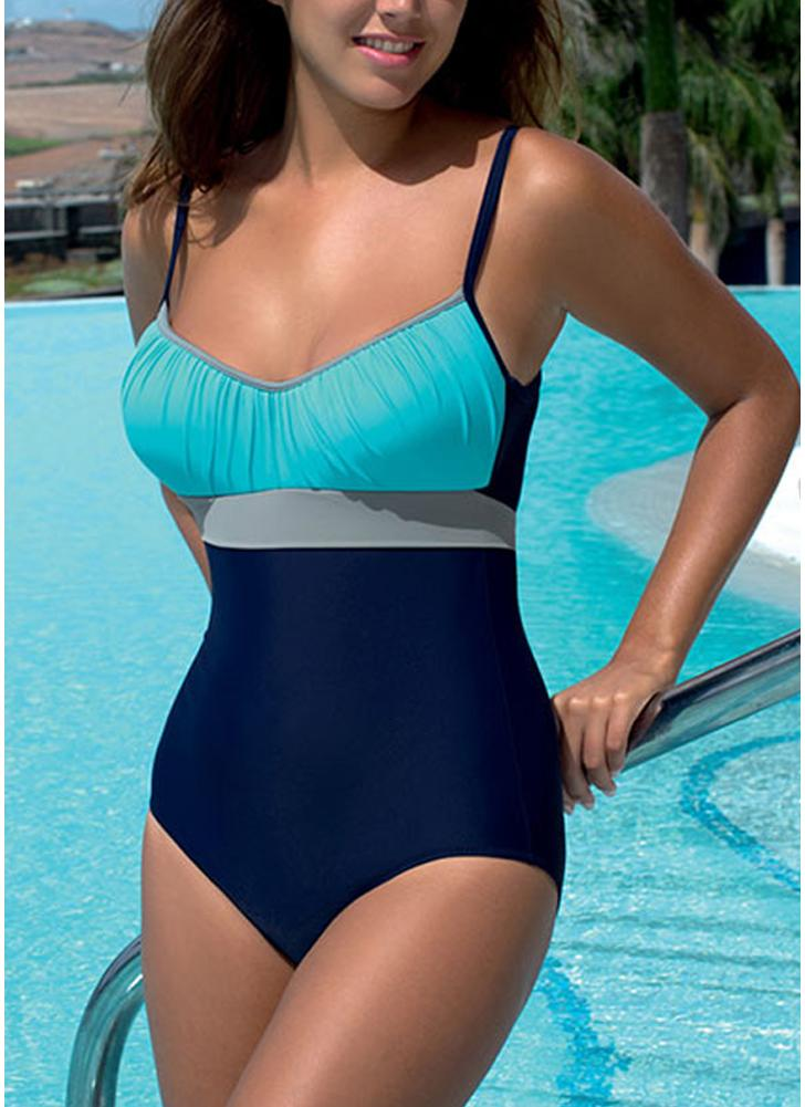 Costumi da bagno donna Costumi da bagno bikini Costumi da bagno colore tuta fasciatura da spiaggia Bikini