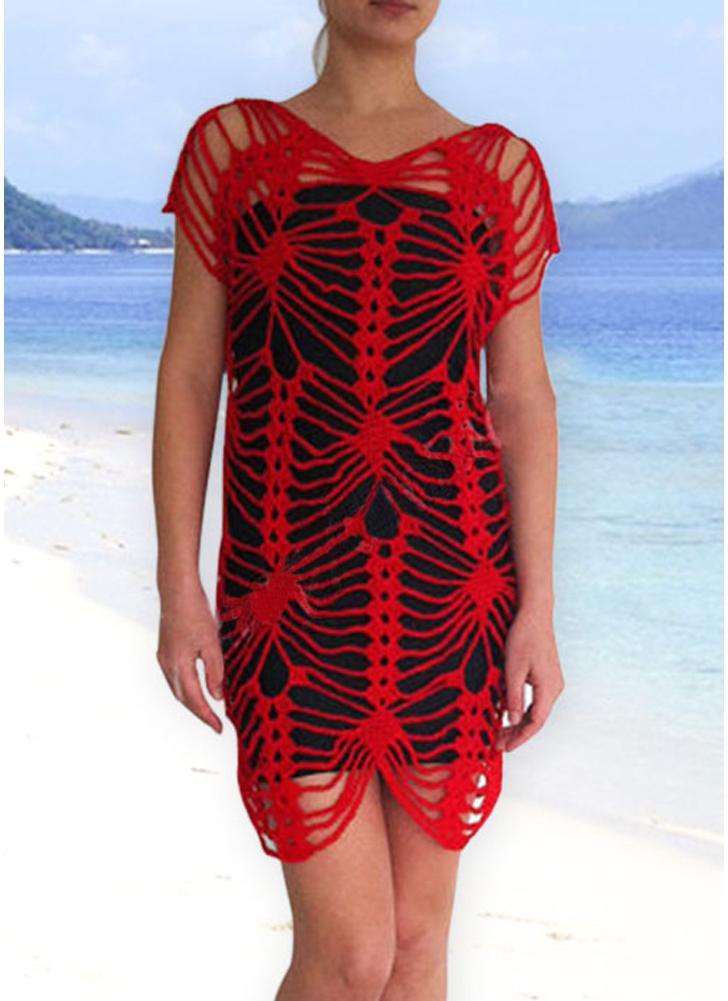 Bikini donna uncinetto copricostume costume da bagno lavorato a maglia