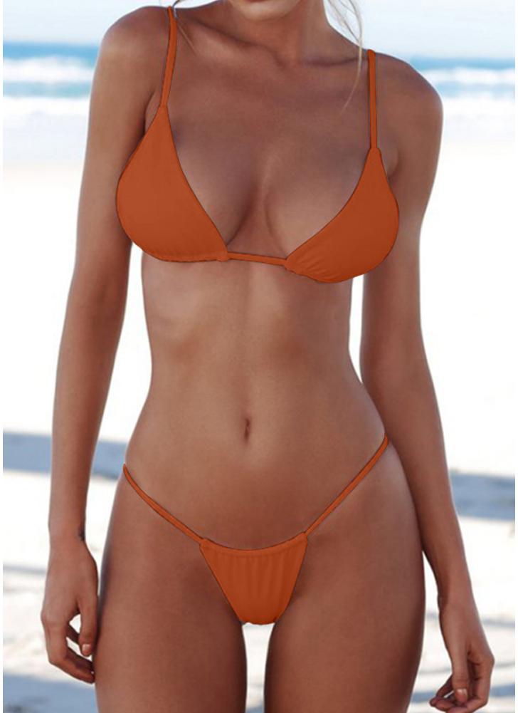 Bikini Push Up imbottito brasiliano
